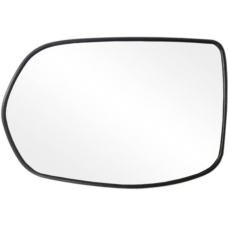 88217 - Fit System Driver Side Non-heated Mirror Glass w/ backing plate, Honda CR-V 07-11, 4 15/ 16