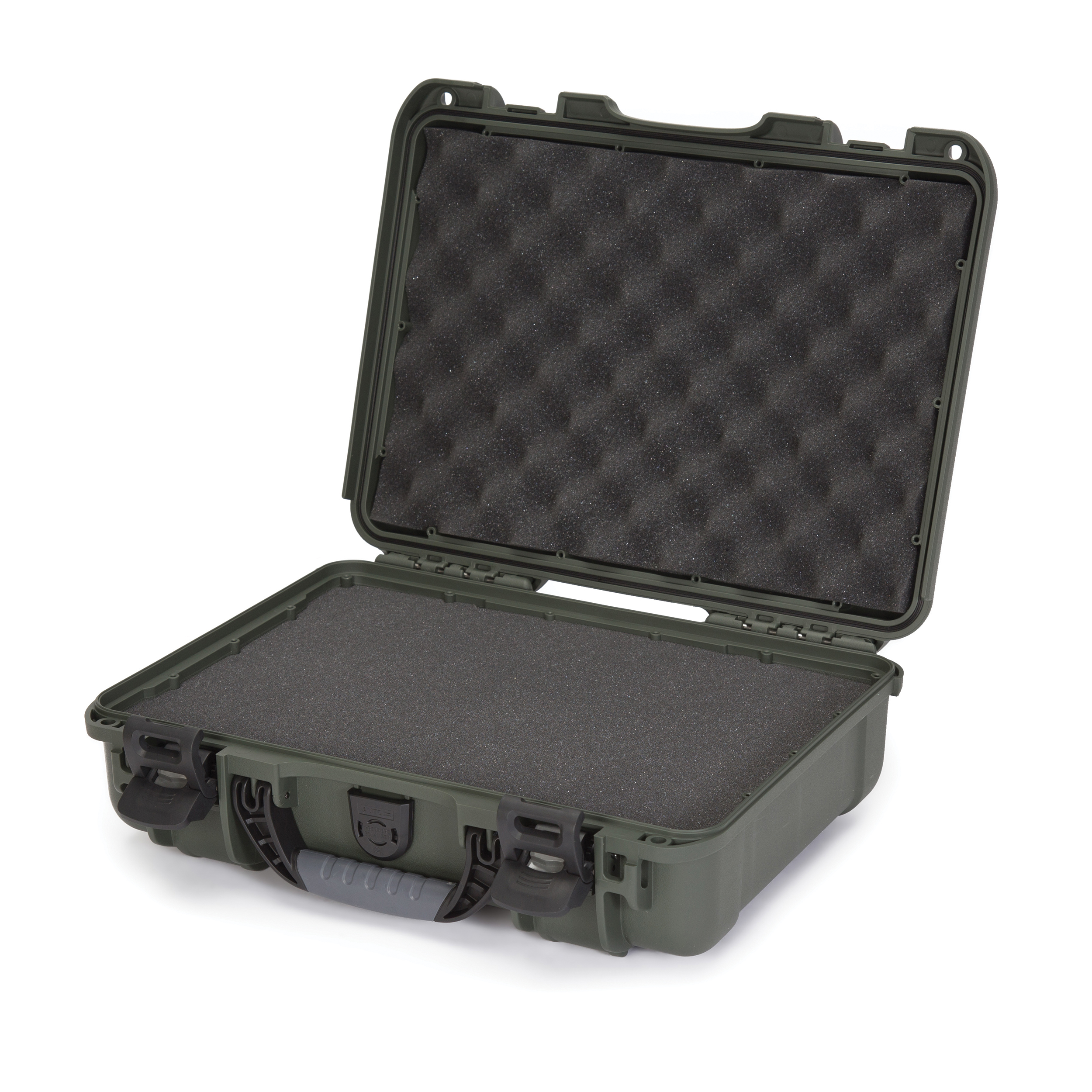 Nanuk 910 Professional Gun Case, Military Approved, Waterproof and Shockproof - Olive