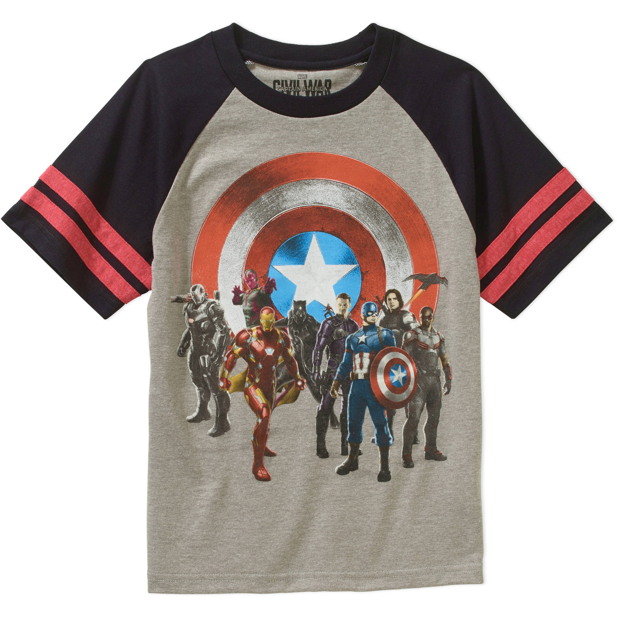 Marvel : Civil War War Group Shot Boys' Graphic Tee