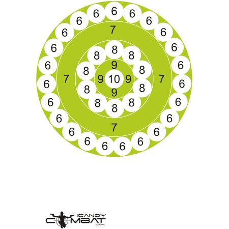 - Lime Green Shooting Practice Paper Targets Rifle Firearm Target Shooter