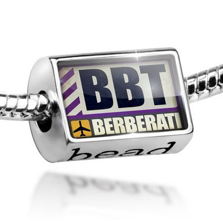 Bead Airportcode Bbt Berberati Charm Fits All European Bracelets