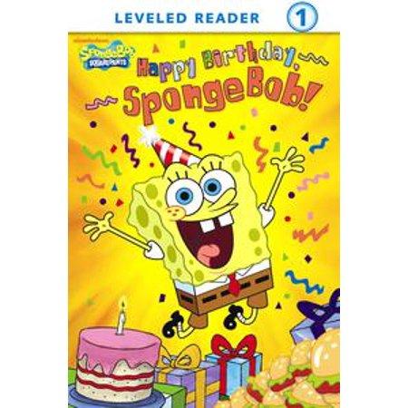 Happy Birthday, SpongeBob! (SpongeBob SquarePants) - eBook - Happy Birthday Spongebob
