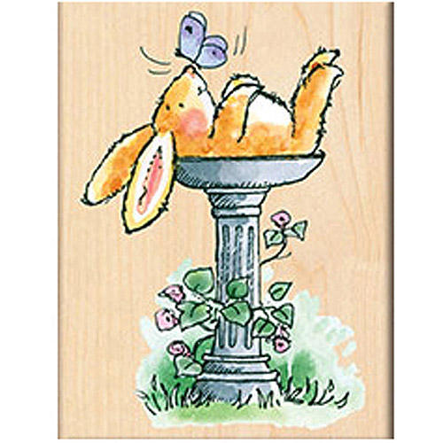 "Penny Black Mounted Rubber Stamp, 2.5"" x 3.25"""