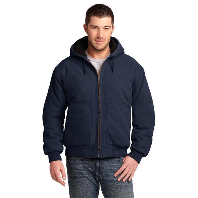 Cornerstone Men/'s Port Pocket Duck 100/% Cotton Winter Hooded Jacket CSJ41