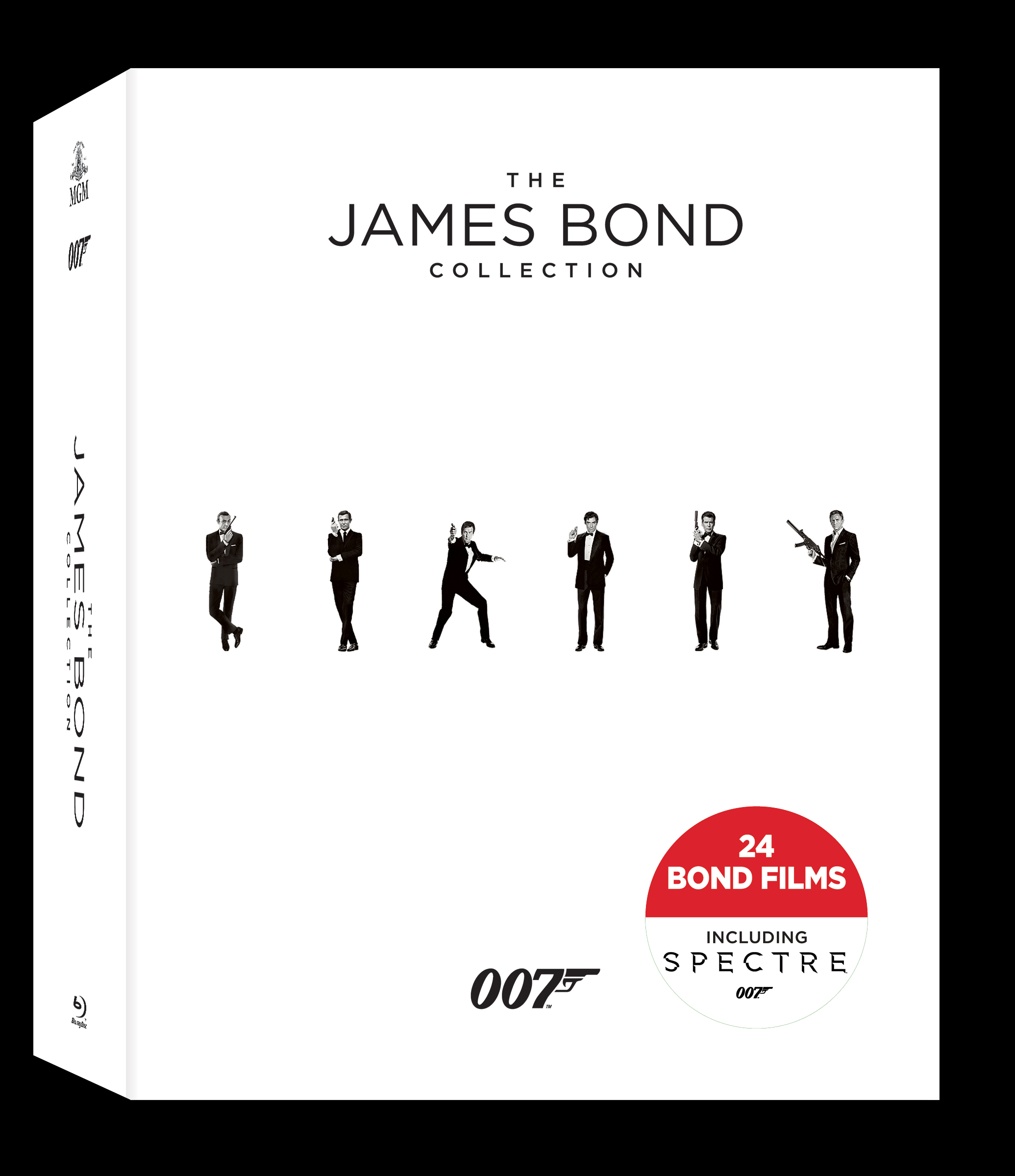 The James Bond Collection (Blu ray)
