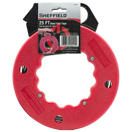sheffield steel fish tape 25 39