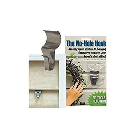 Corset Hook (No-Hole Hooks Vinyl Siding Hangers - Low Profile-)