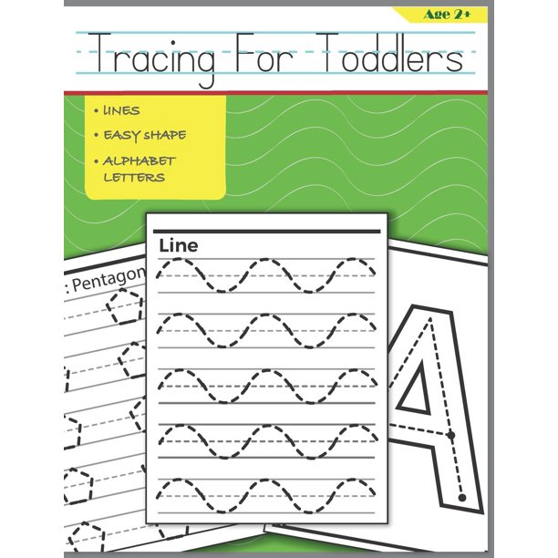 Tracing for Toddlers: Beginner to Tracing Lines, Shape & ABC Letters