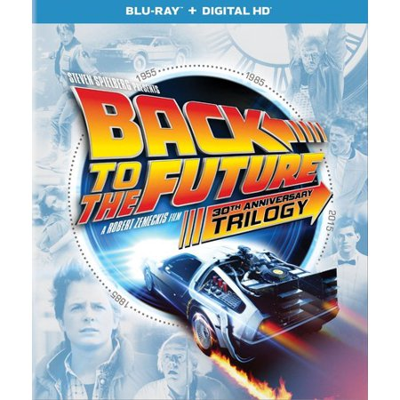 Back to the Future: 30th Anniversary Trilogy (Blu-ray + Digital Copy)