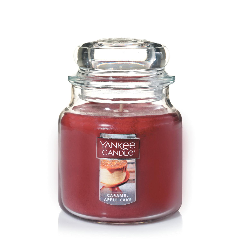 Yankee Candle Medium Jar, Caramel Apple Cake
