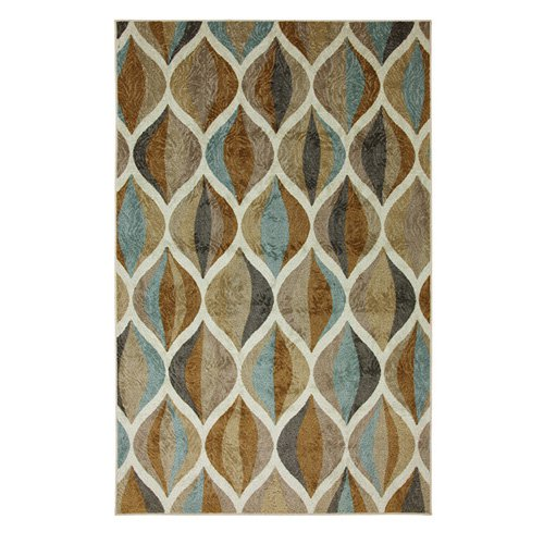 Mohawk New Wave Ornamental Ogee Multicolored Rug