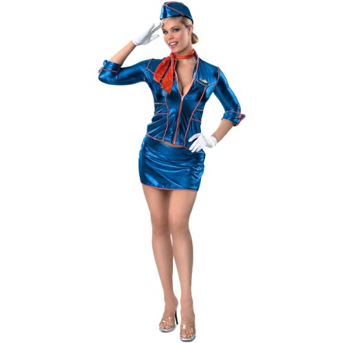 Adult Stewardess Costume Rubies 56091, Extra Small