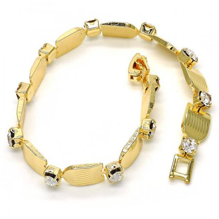 One-Of-A-Kind Fancy Bracelet For Women With White Crystal By Folks Jewelry