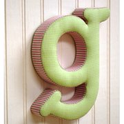 New Arrivals Fabric Letter Hanging Initial