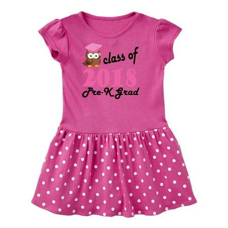 f6028e0abc Inktastic - Pre-K 2018 School Graduation Toddler Dress - Walmart.com