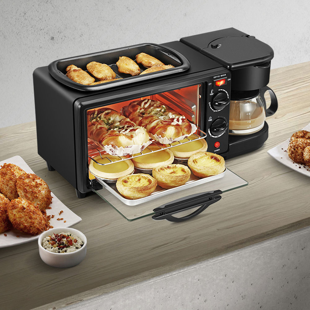 Details about  /Multi function  Electric Frying Breakfast Machine Automatic