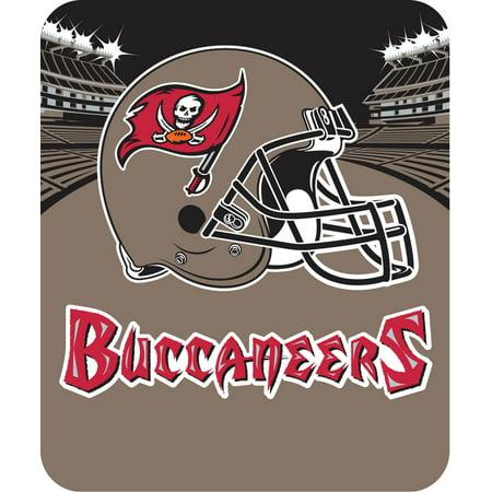 NFL Tampa Bay Buccaneers Micro Raschel Plush Throw Blanket Livin Large Design by
