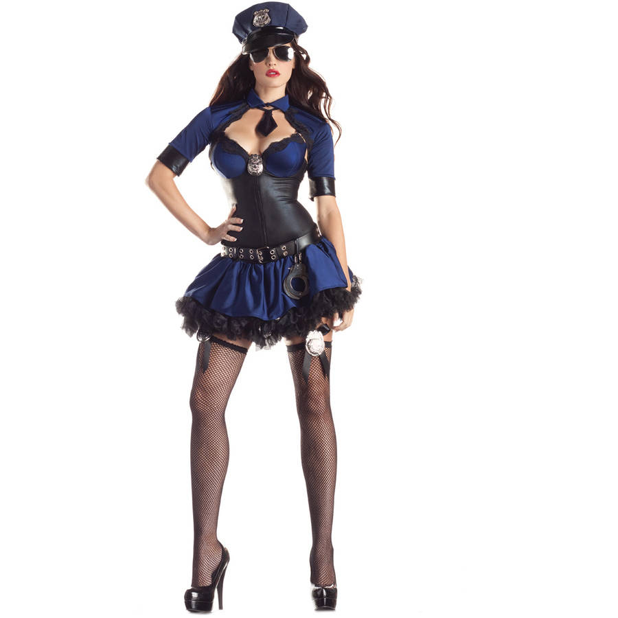 Police Officer Women\'s Adult Halloween Costume - Walmart.com