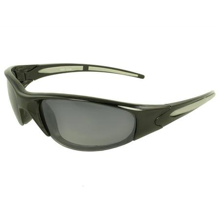 Wrap Fashion Sunglasses Black Grey Frame Purple Black Lenses Black Frame Grey 3 Lens