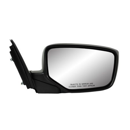 63613H - Fit System Passenger Side Mirror for 08-12 Honda Accord LX Sport Model, 2dr, textured black w/ PTM cover, foldaway w/o Aspherical Lens, Heated Power
