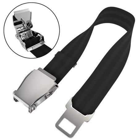 ABLEWIPE Adjustable Airplane Seat Belt Extender- Fits Most Airlines- E4 Safety - Airplane Seat Belt
