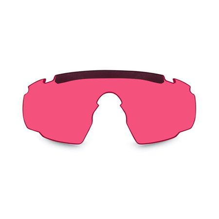 Wiley X 306V Saber Advanced Replacement Accessory Pink/Red Glasses (Lens Replacement Glasses)