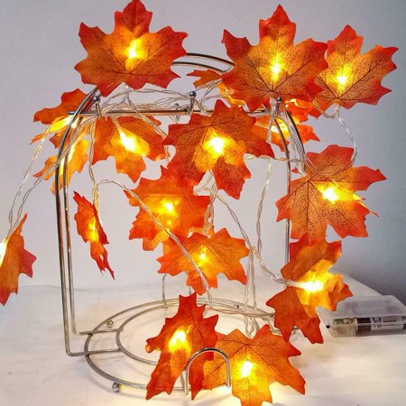 This Is Halloween Dubstep Mix (2M LED Lighted Fall Autumn Maple Leaves Garland Halloween Xmas Party Decor Mix)
