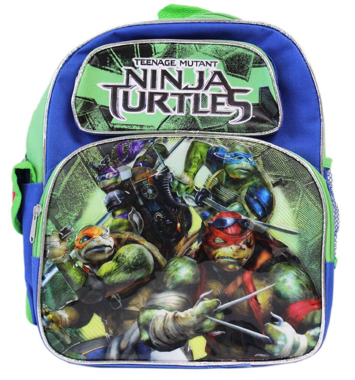 Teenage Mutant Ninja Turtles 12 inches Small Backpack BRAND NEW