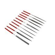 SE 10-Piece Diamond Needle File Set with 150 Grit - 744DF-R