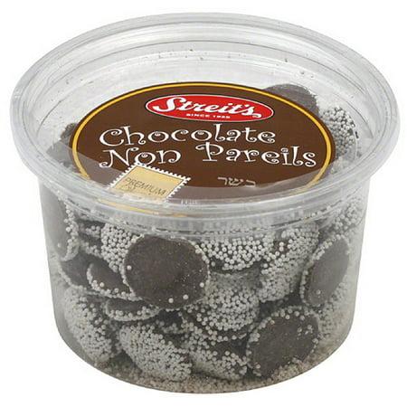 Neon Chocolates - Streit's Chocolate Non Pareils, 11 oz, (Pack of 6)