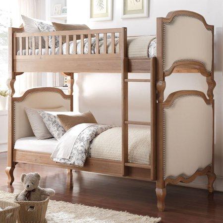 Generic Charlton Twin Twin Bunk Bed Salvage Oak