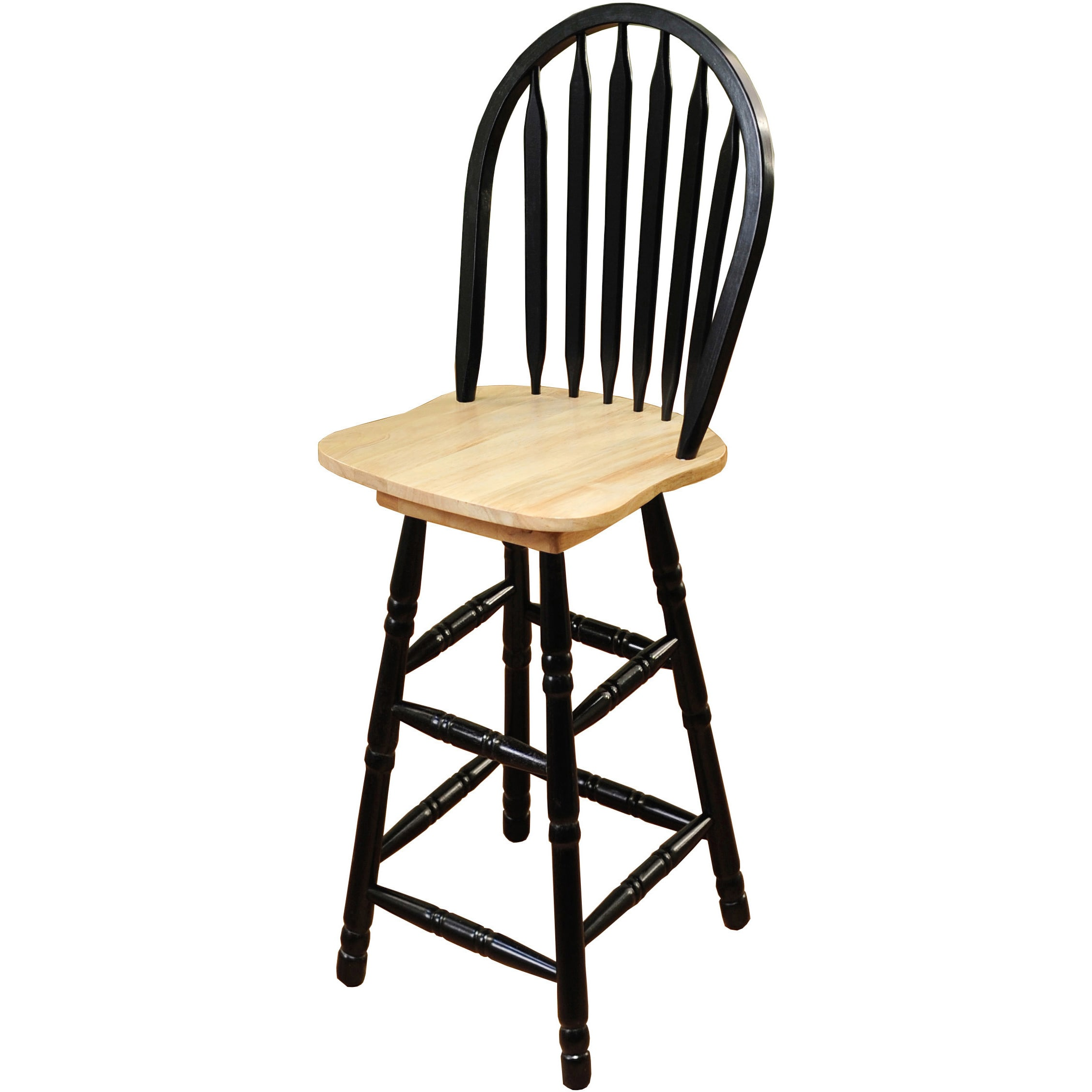 Simple Living Arrowback Swivel Bar Stool Walmart Com