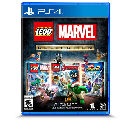 The LEGO Marvel Collection, Warner Bros., PlayStation 4, 883929670482