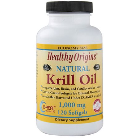 Healthy Origins Krill Oil, 1000mg, 60ct