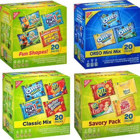 Crackers Cookies (Nabisco Cookies & Crackers Variety Pack Your Choice Value Bundle  Pick 4/$20 )