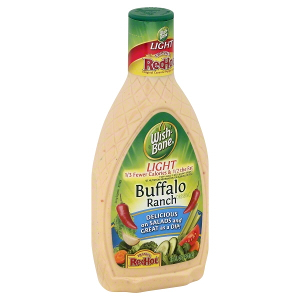 Wish-Bone Light Buffalo Ranch Salad Dressing, 16 fl oz