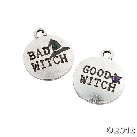 Good Witch & Bad Witch Halloween Charms (Good Halloween Double Acts)
