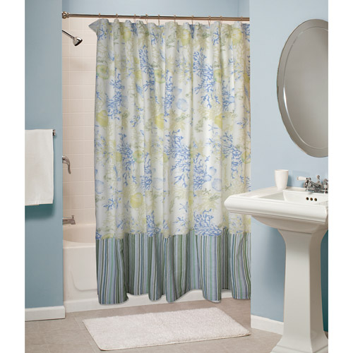 Global Trends Seascape Shower Curtain