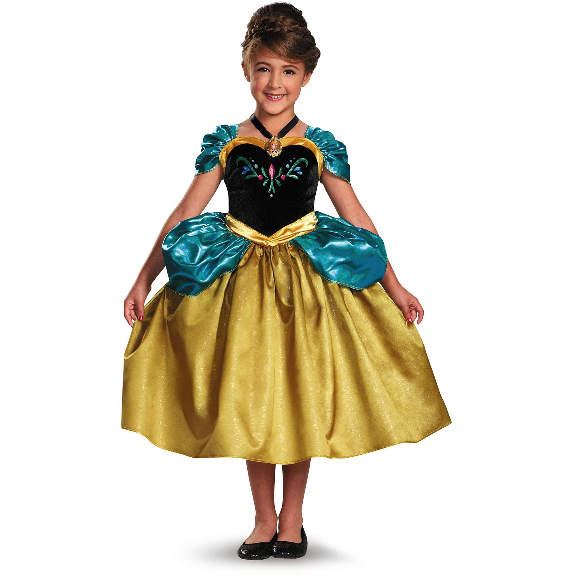 anna toddler halloween costume walmartcom - Halloween Anna Costume