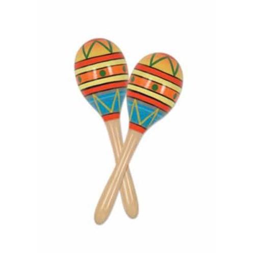 Beistle 60951-8 - Fiesta Fun Party Maracas- Pack of 12