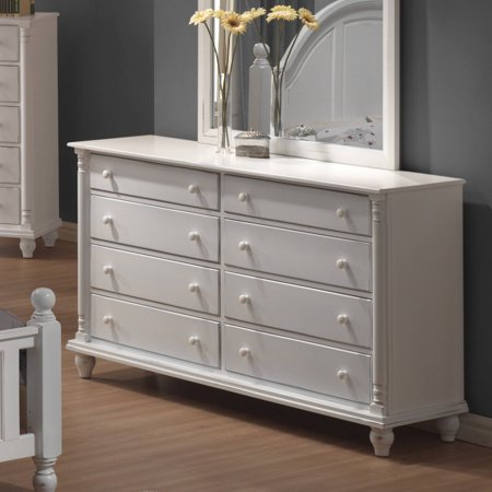 Coaster Company Kayla Collection Dresser, White