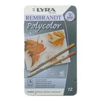 Lyra Rembrandt Polycolor Colored Pencil Set, 12-Color