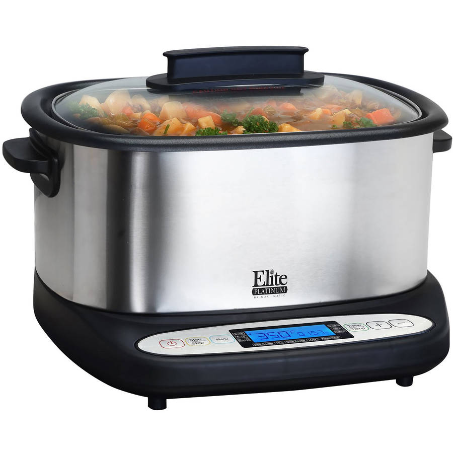 Maxi Matic Elite Platinum 7-in-1 Infinity Cooker, Stainless Steel