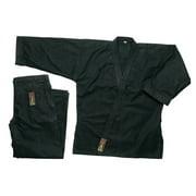 Pine Tree Heavy Weight Karate Uniform 14 oz - Black