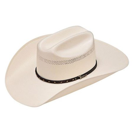 Twister T73270-7.125 4.25 in. SS & SS 10X Shantung Straw Hat, Ivory - Size 7.125 - image 1 of 1