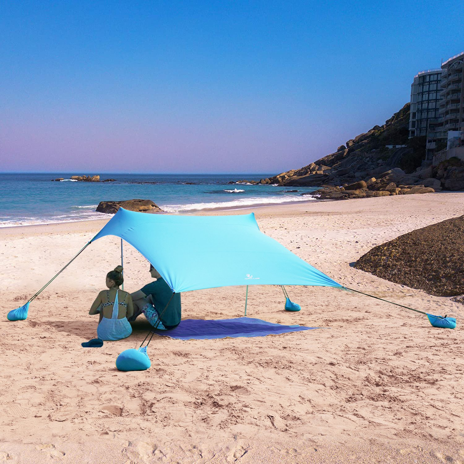 Studio Beach Shade Sun Protection Beach Tent! .50 with free shipping at Walmart!