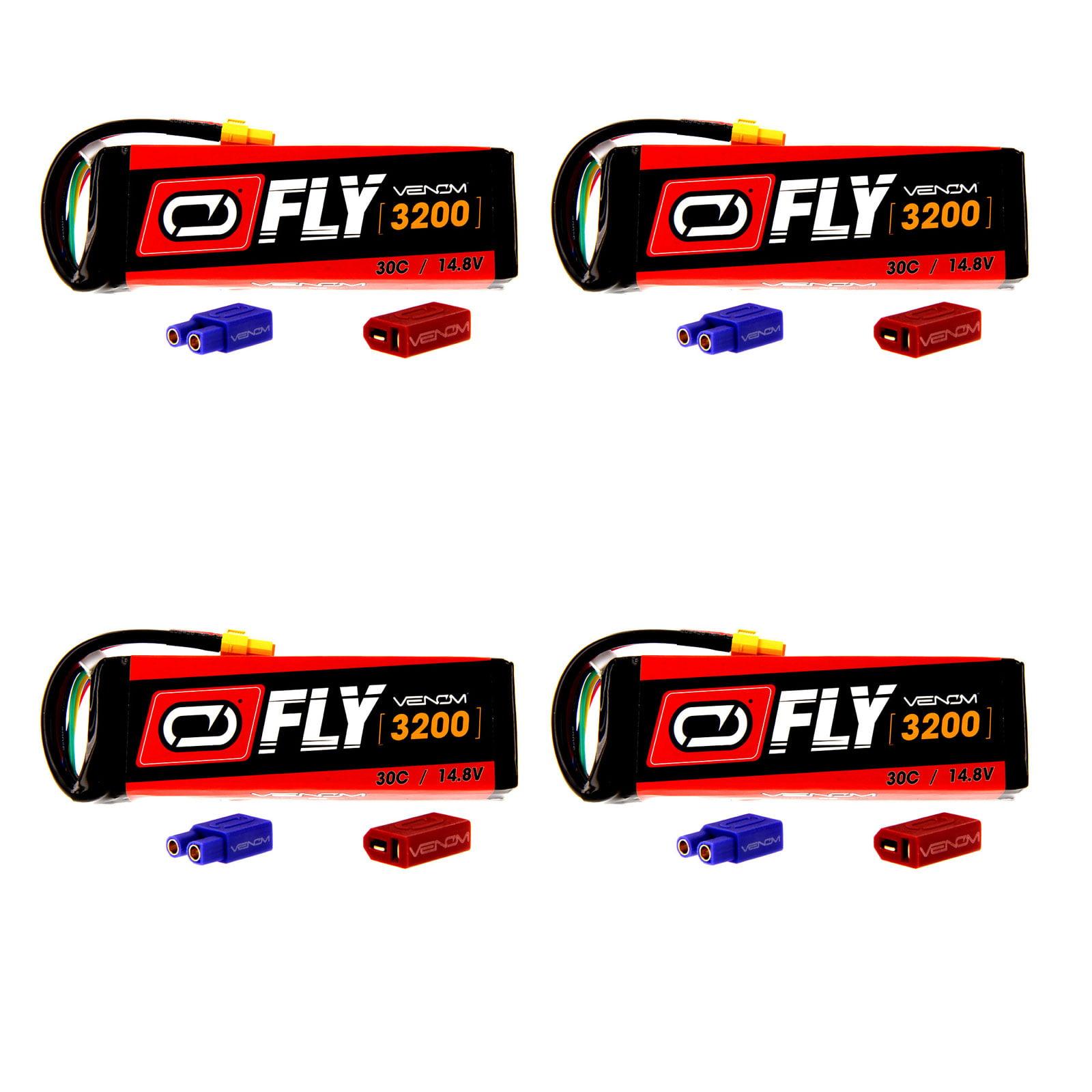VENOM Fly 30C 4S 3200mAh 14.8V LiPo Battery with  UNI 2.0...