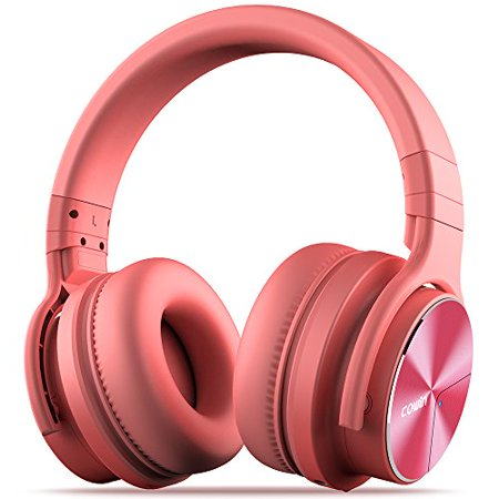 Cowin E7 Pro Upgraded Active Noise Cancelling Headphones Bluetooth Headphones With Microphone Deep Bass Wireless Headphones Over Ear 30 Hours Playtime For Travel Work Pink Walmart Canada