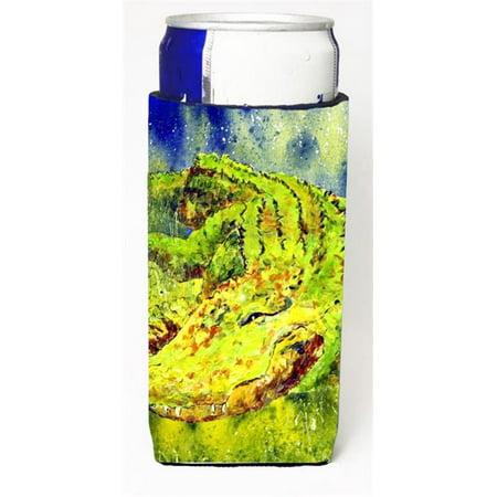 Lime Garter (Alligator Michelob Ultra bottle sleeve for Slim Can )