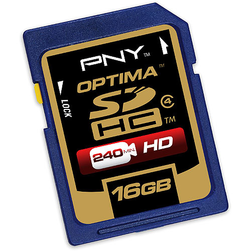 PNY Technologies 16GB SDHC Card, Class 4